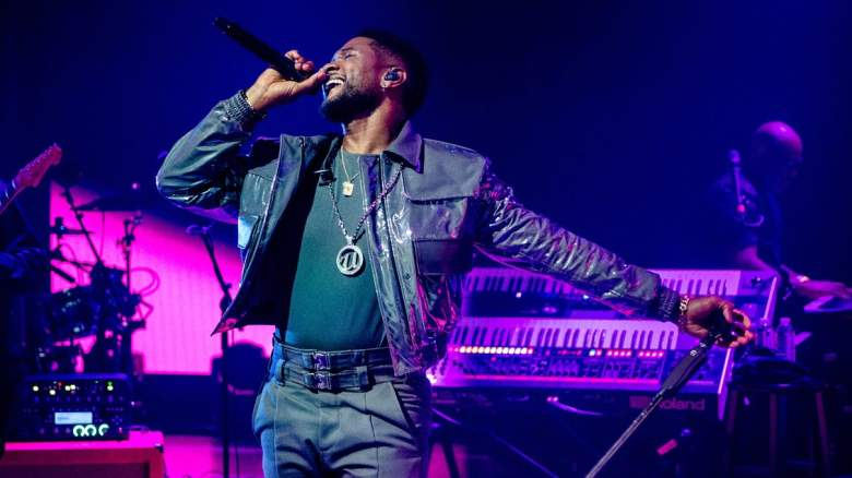 Usher performs during the 2020 iHeartRadio Music Festival