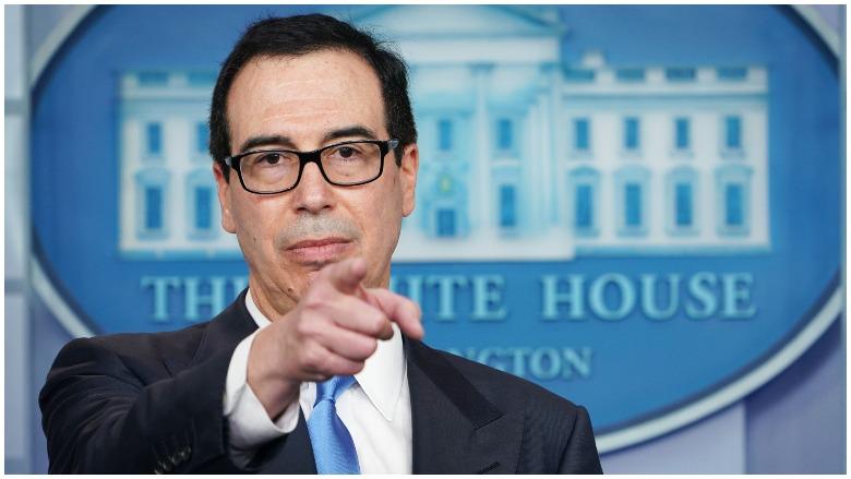White House $1,200 Mnuchin