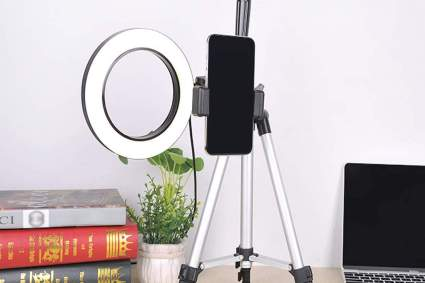 WongPing ring light for video streaming