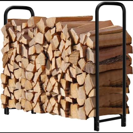 Amagabeli Four-Foot Firewood Rack
