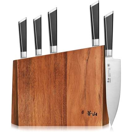 Cangshan Six-Piece Y2 Series Knife Block Set