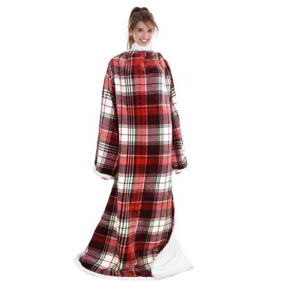 Catalonia Sherpa Wearable Blanket with Sleeves