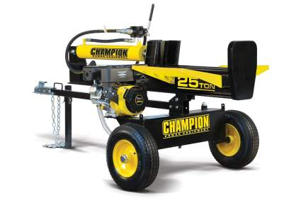 Champion 25-Ton Horizontal/Vertical Full Beam Gas-Powered Log Splitter