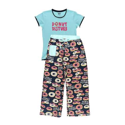 donut print pajamas