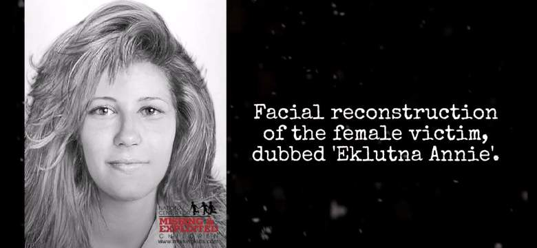 The facial reconstruction of Robert Hansen's victim dubbed 'Eklutna Annie' because of where she was found.