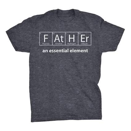 father periodic elements tee shirt