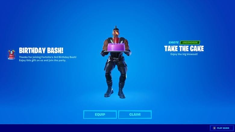 Where To Dance In Front Of Birthday Cakes In Fortnite Heavy Com