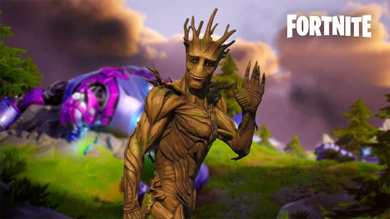 fortnite groot ball glitch bug