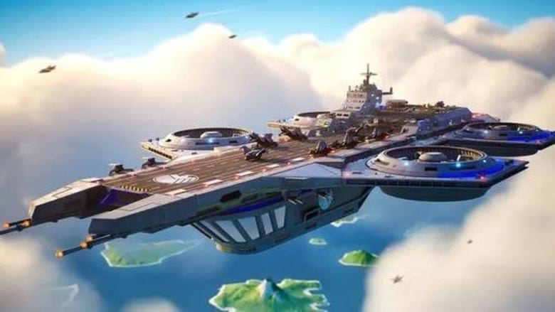 fortnite helicarrier poi