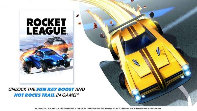 fortnite rocket league llama rama items