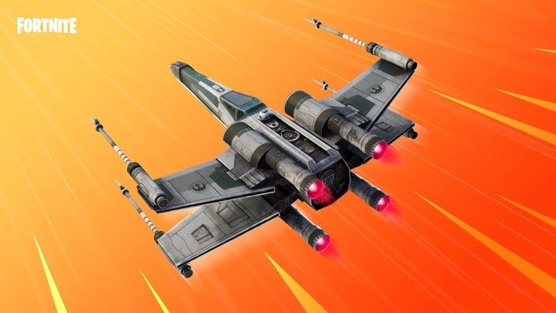 fortnite star wars squadrons x wing