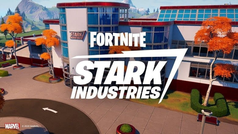 fortnite stark industries drop spot