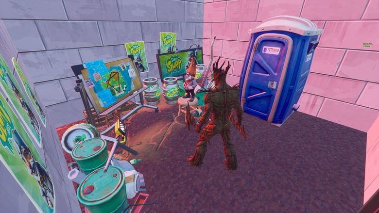 fortnite the lair quest