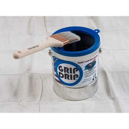 Grip Drips Paint Can Rim Cover