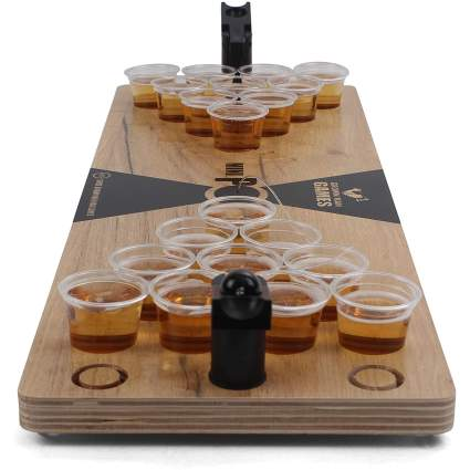 Grown Man Games Mini Beer Pong