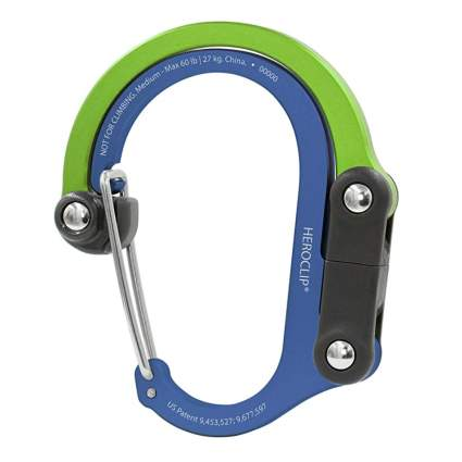 Heroclip Carabiner Clip and Hook
