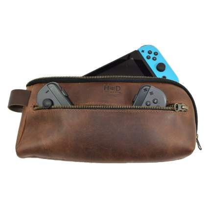 Hide & Drink Leather Urban Travel Pouch