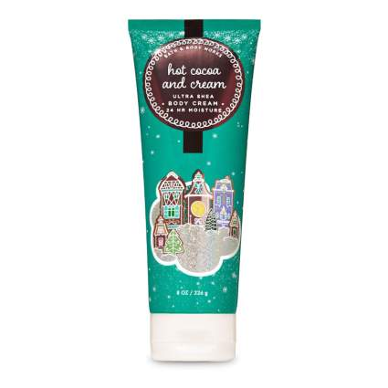 hot cocoa and cream body lotion