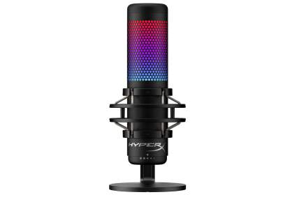 hyperx quadcast s microphone for streaming