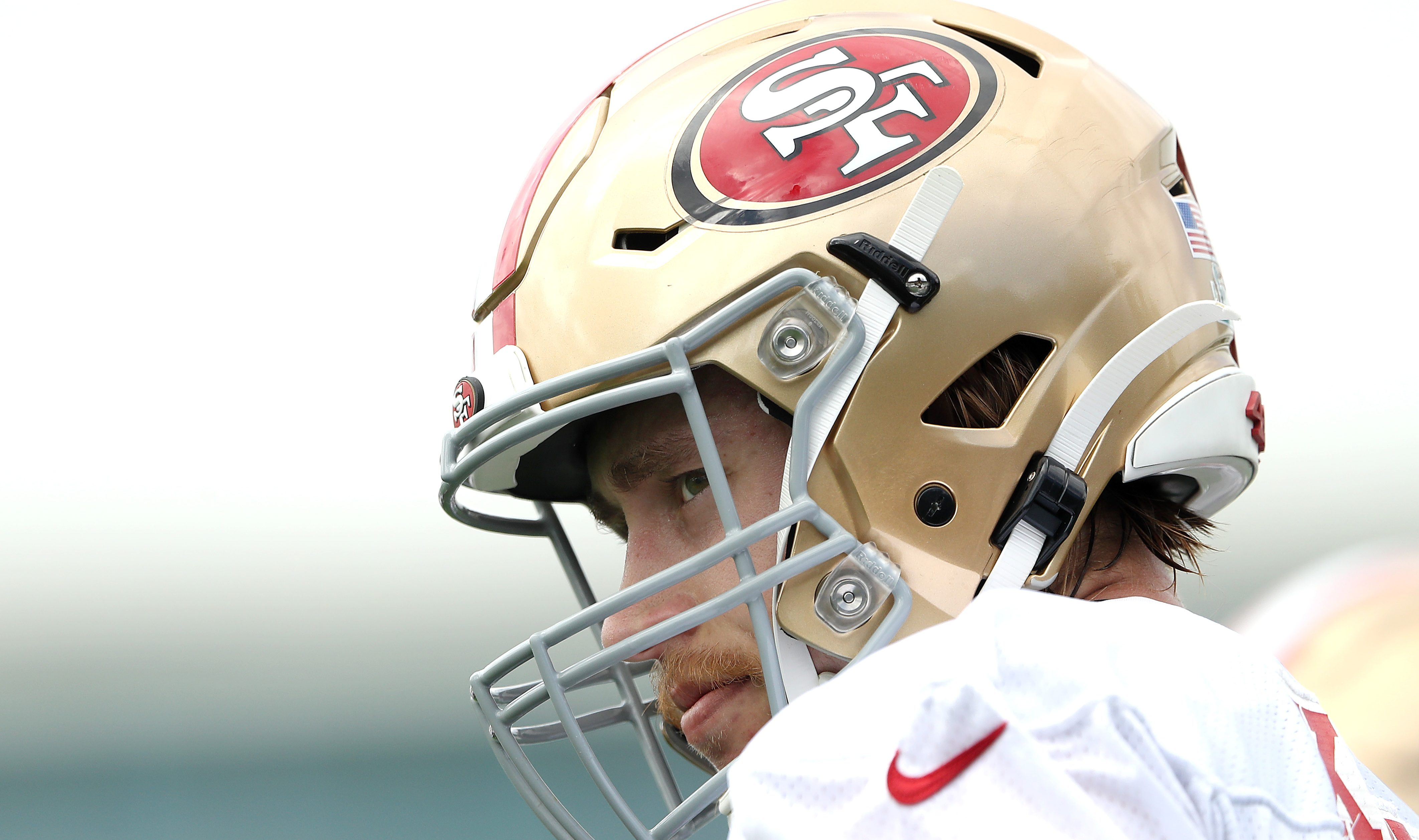 Kyle Shanahan Gives Update on 'Questionable' 49ers TE George Kittle