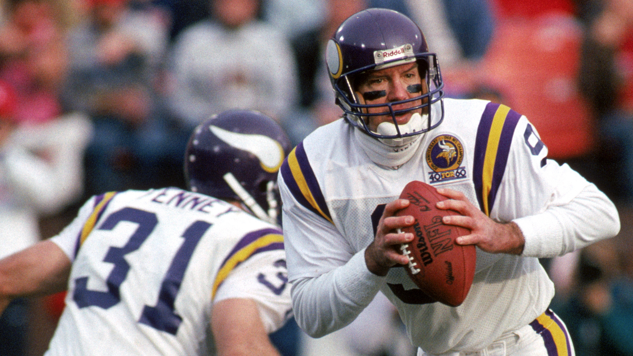 Former Vikings Qb Polls Who Should Christen Packers Urinal Look Heavy Com