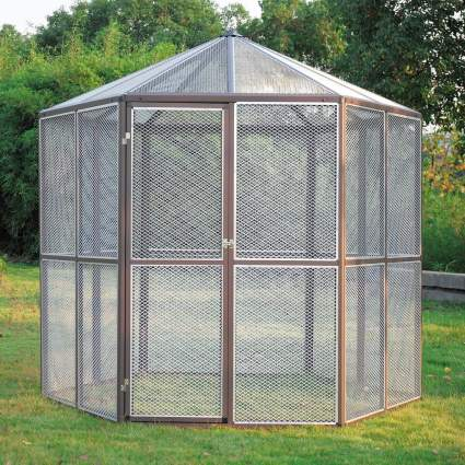 Aviary for birdcage list
