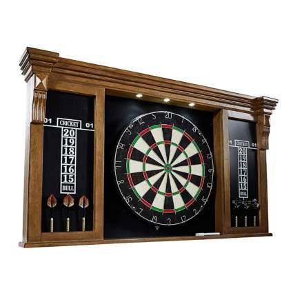 professional bristle dartboard and case