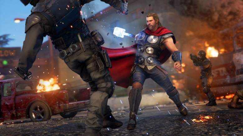 Marvel's Avengers Game Thor
