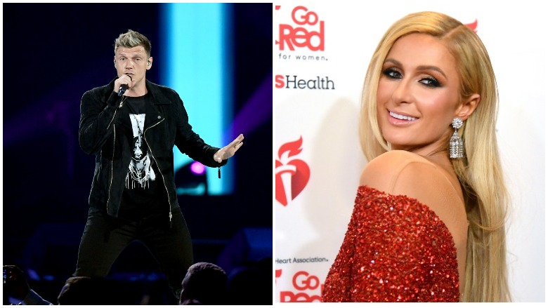 nick carter paris hilton abuse