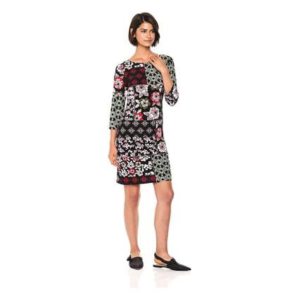 nine west patchwork dress