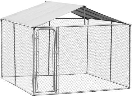 Chainlink dog kennel for list