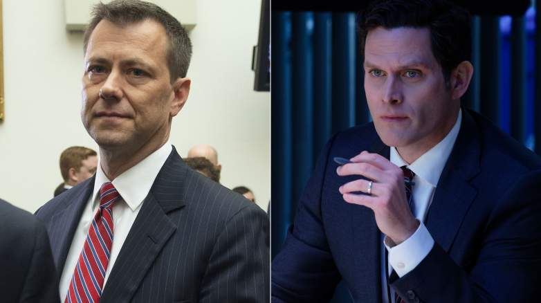 Steven Pasquale as Peter Strzok in The Comey Rule