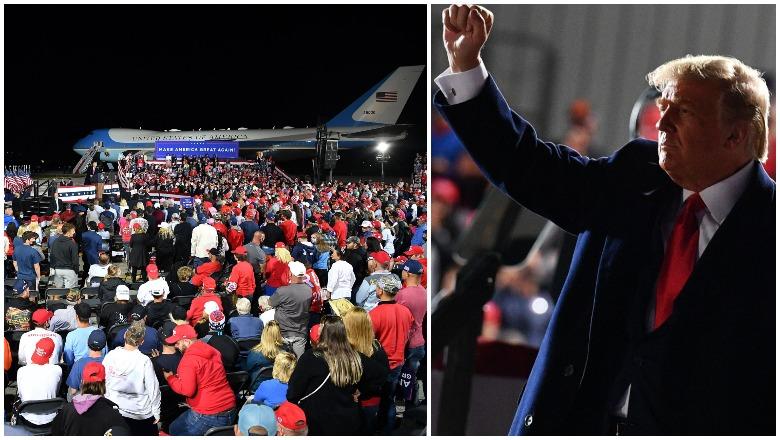 Trump Toledo Rally Crowd