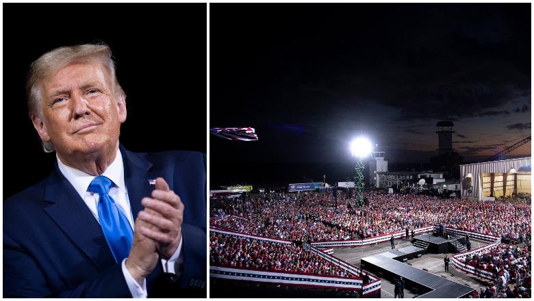 Trump Jacksonville Rally Crowd Size