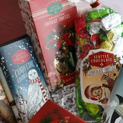 seattle chocolate gift package