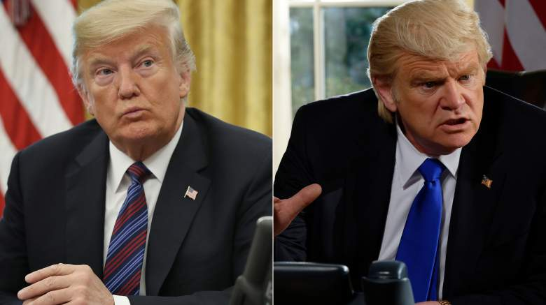 Brendan Gleeson plays President Donald Trump in Showtime's The Comey Rule.