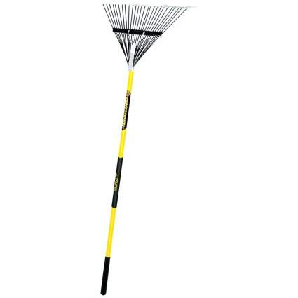 Truper 32401 Tru Pro 54-Inch Steel Leaf Rake