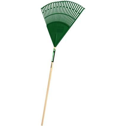 Truper 989516 Tru Tough 48 Plastic Leaf Rake
