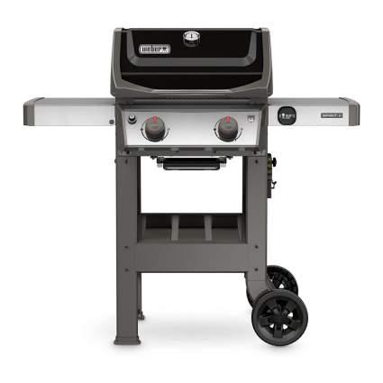 Black Weber gas grill