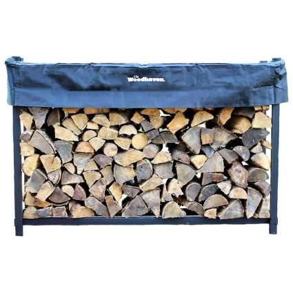 Woodhaven 6-Foot Firewood Rack