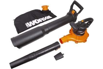 Worx WG518 12 Amp 2-Speed Leaf Blower Mulcher Vacuum