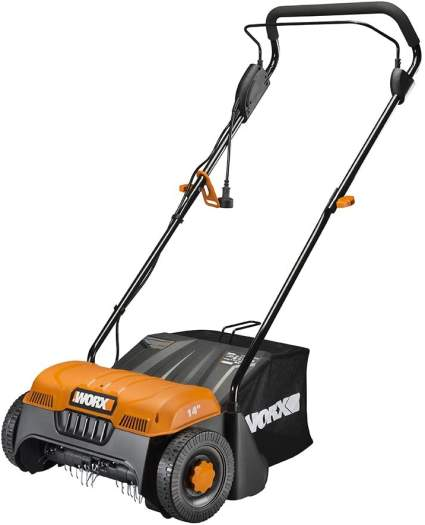 Worx WG850 12 Amp 14-Inch Corded Electric Dethatcher