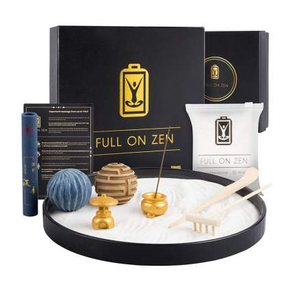 zen garden and incense kit