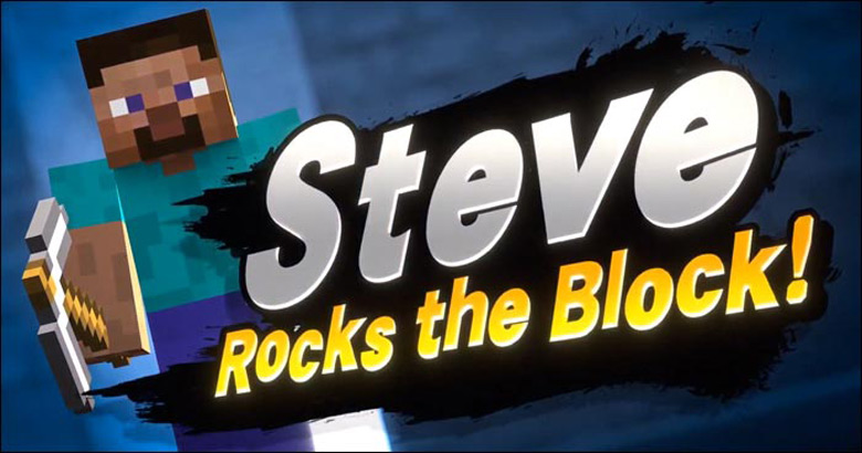 Steve Minecraft Super Smash Bros Ultimate