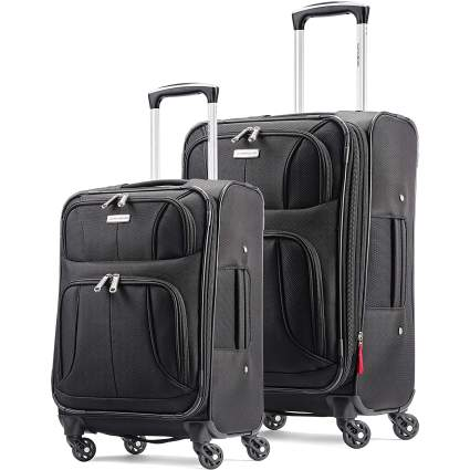 2-Piece Samsonite Aspire Xlite Softside Expandable Luggage with Spinner Wheels