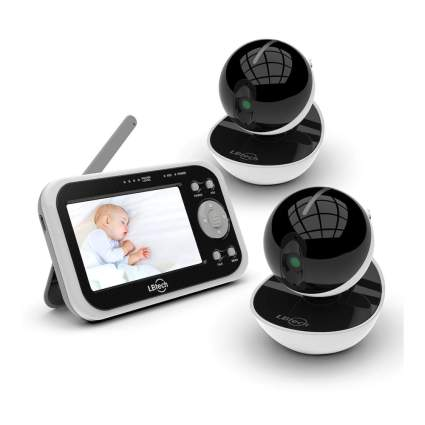 baby monitor with 2 cameras
