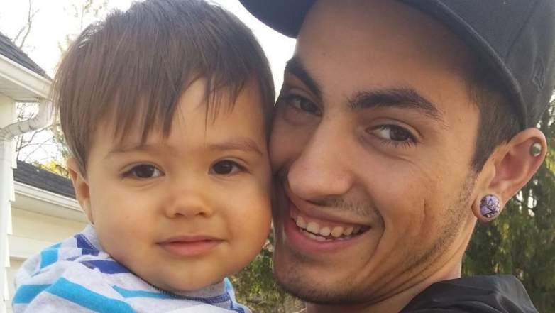 Trent Alan Smith and his son, Kai