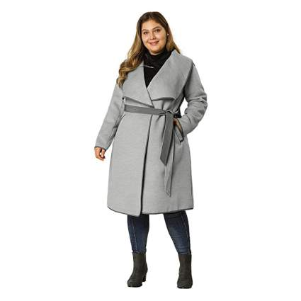 Agnes Orinda wrap coat