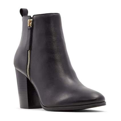 Aldo block heel booties