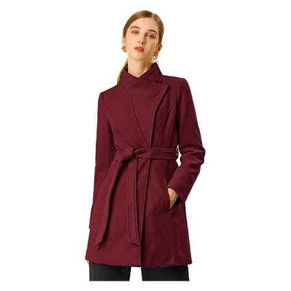Alegra K wrap coat